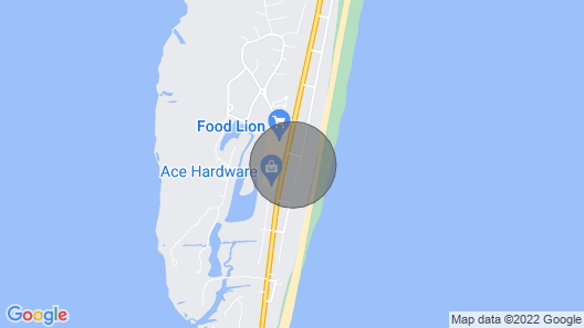 Find Treasure on Hatteras Island With This Semi-oceanfront Home Map