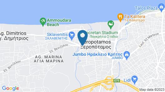 Minoa Apartments Map