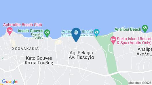 Amirandes Grecotel Boutique Resort Map