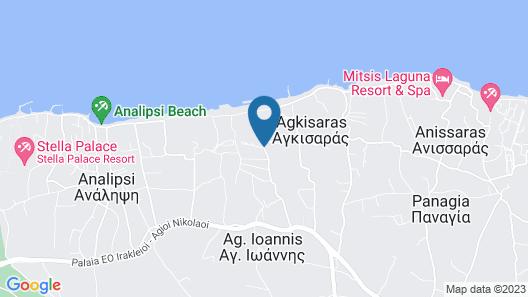 Anissa Beach & Village Map