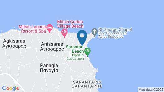 Aldemar Knossos Villas Map