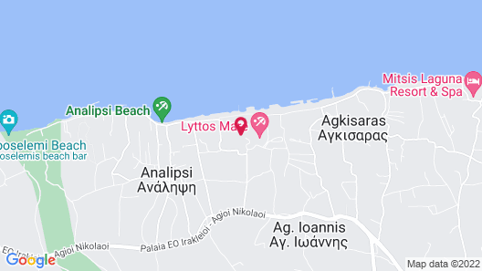 Lyttos Beach - All Inclusive Map