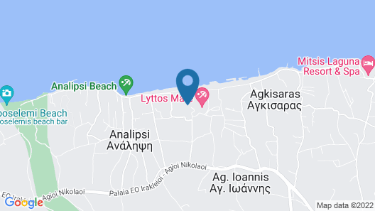 Lyttos Beach - All Inclusive Map