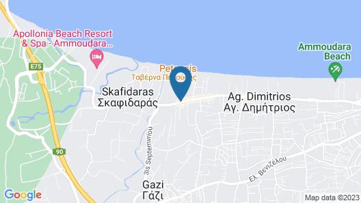 Petousis Hotel & Suites Map