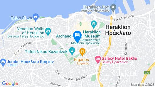 GeNa Apartments Map