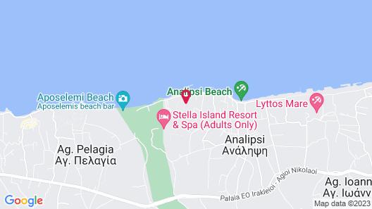 Stella Palace Resort & Spa Map