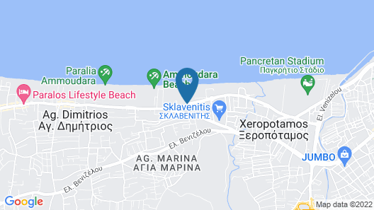 Akti Corali Map