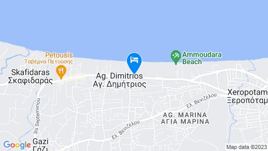 Civitel Creta Beach Map