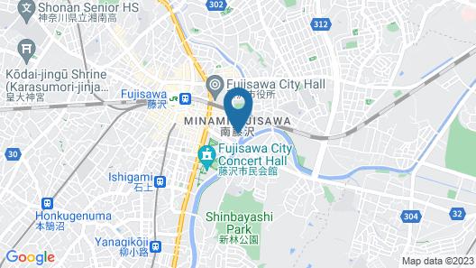 FUJISAWA HOTEL EN Map