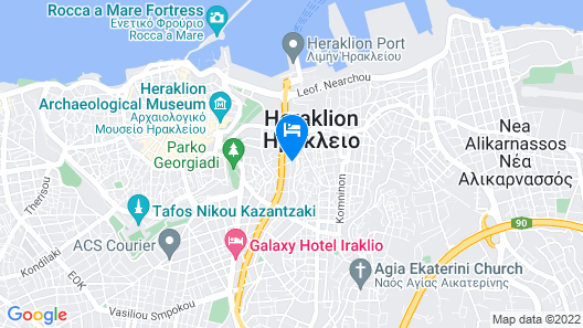 Artree Suites Map