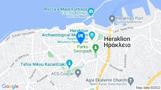 Hotel Olympic Map