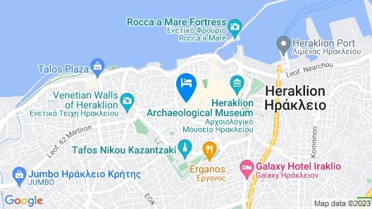 Metropole Urban Hotel Map