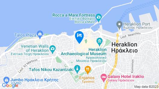 City Lion Map