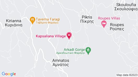 Kapsaliana Village Hotel Map