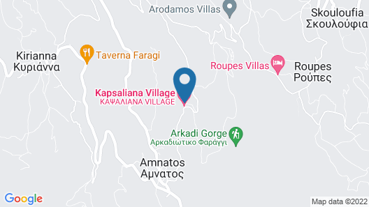Kapsaliana Village Hotel Map