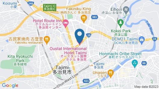 Oustat International Hotel Tajimi Map