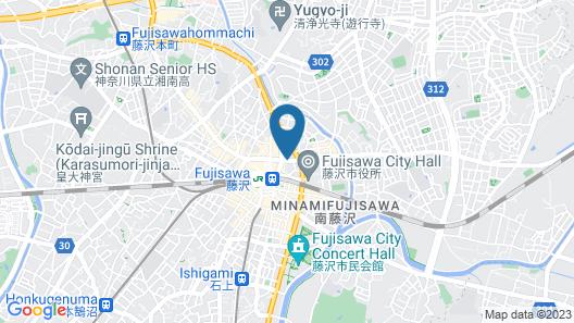 Hotel Wing International Shonan-Fujisawa Map