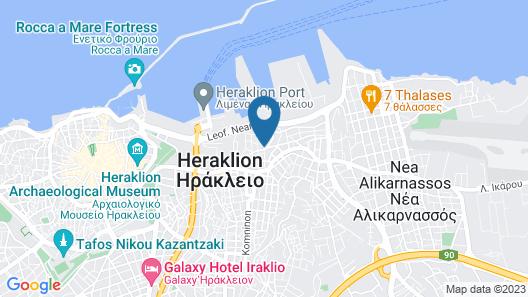 Pasiphae Hotel Map