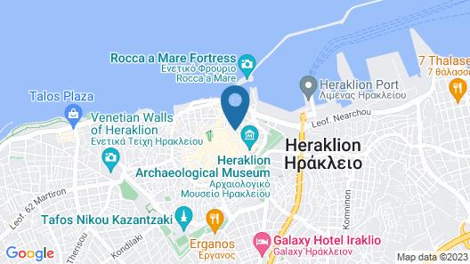 Ibis Styles Heraklion Central Map
