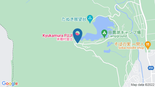 Kyukamura Fuji Map