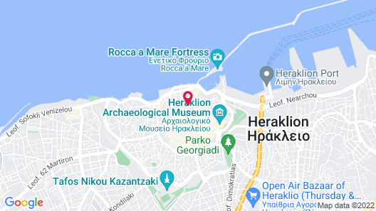 Dom Boutique Hotel Map