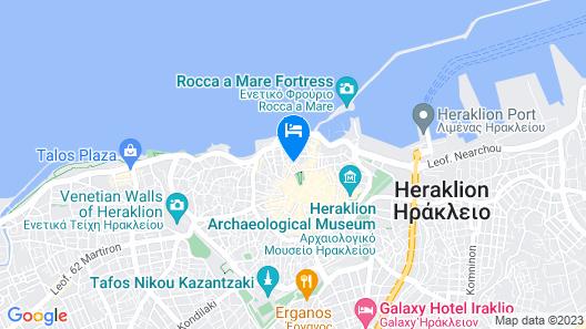Kastro Hotel Map