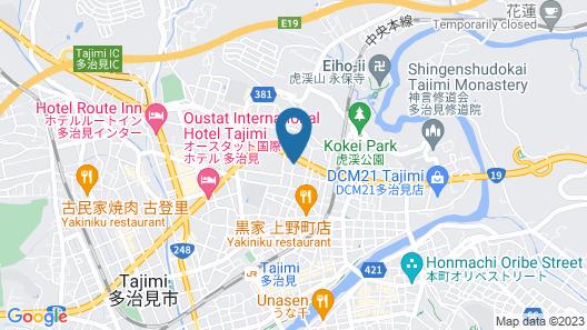 Hotel Tajimi Hills My Room Map