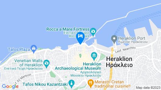 Kronos Hotel Map
