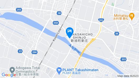 Ryokan Toriiro Map