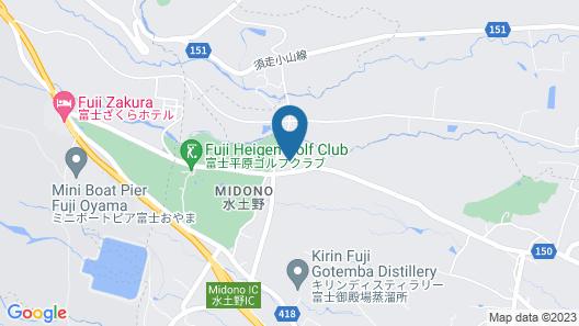 Yusainomori Map