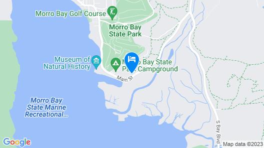 Inn At Morro Bay Map