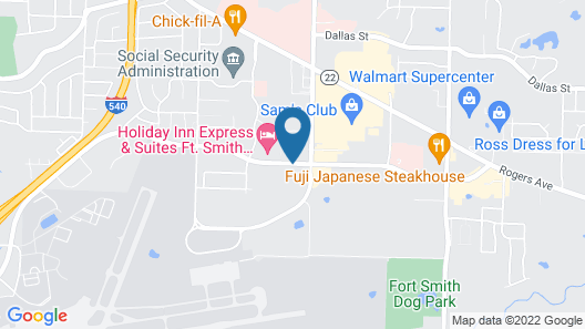 Homewood Suites by Hilton Fort Smith Map