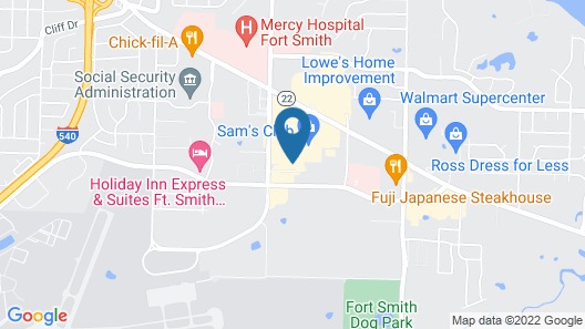 Candlewood Suites Fort Smith, an IHG Hotel Map