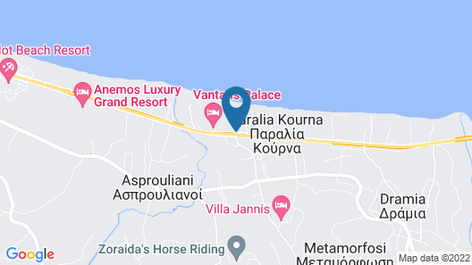 Anemos Luxury Grand Resort Map