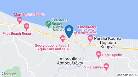 Pinelopi Beach Suites Map