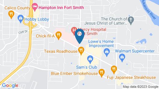 Residence Inn by Marriott Fort Smith Map