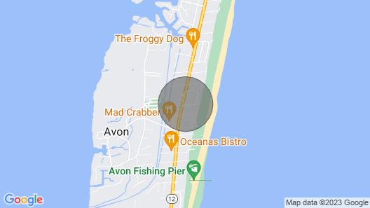 The Shark Tank - Impressive 7 Bedroom Oceanside Home in Avon Map