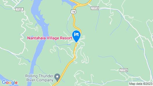 Nantahala Village Map