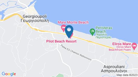 Pilot Beach Resort Map
