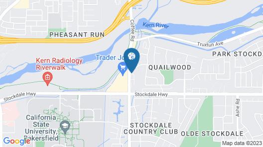 Hyatt Place Bakersfield Map