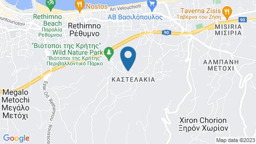 Villa Kastellakia Map