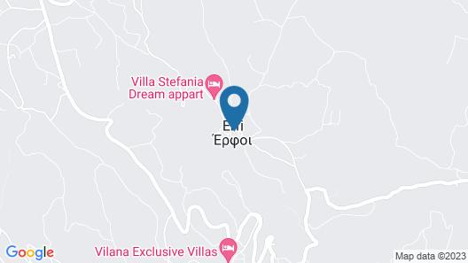 Villa Stefania Dream Aparthotel Map