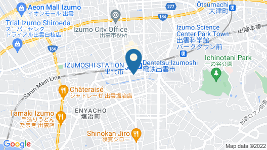 Izumo Green Hotel Morris Map