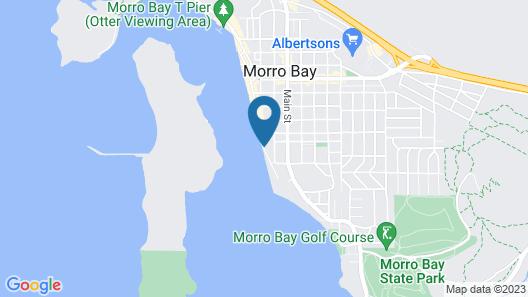 456 Embarcadero Inn & Suites Map