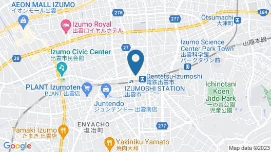 TWIN LEAVES HOTEL IZUMO Map