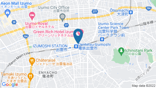 HOTEL AREAONE IZUMO Map