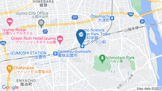 Hotel Takeshi Sanso Map