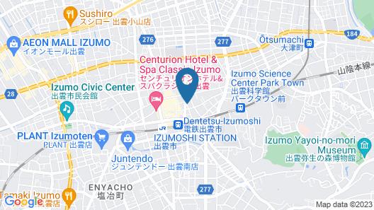 Green Rich Hotel Izumo Map