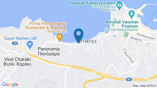 Creta Seafront Residences Map
