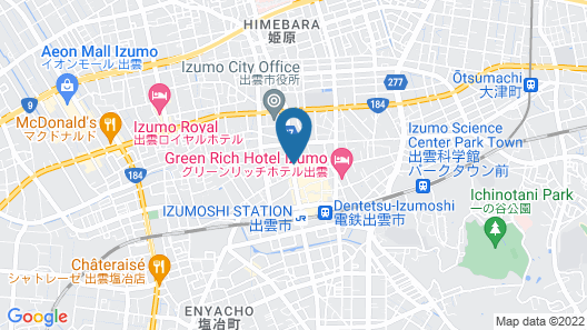 The Structure Hostel and Cafebar Map